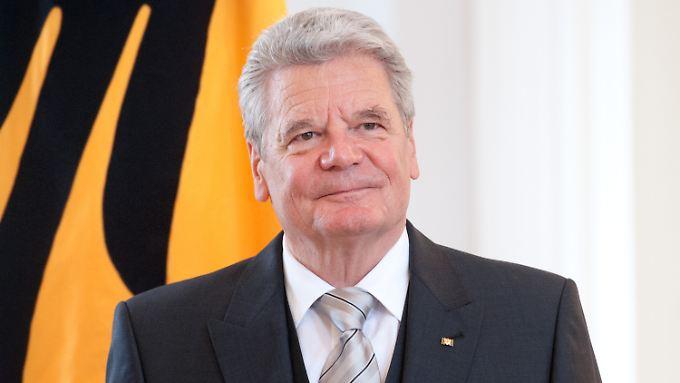 Joachim Gauck hat gerade erst das Gesetz zum ESM ausgefertigt.