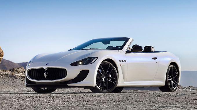 Lässt keine Zweifel an seinen Ambitionen: das Maserati Gran Cabrio MC.