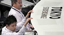 Feierwoche in China: Nikkei schließt leichter