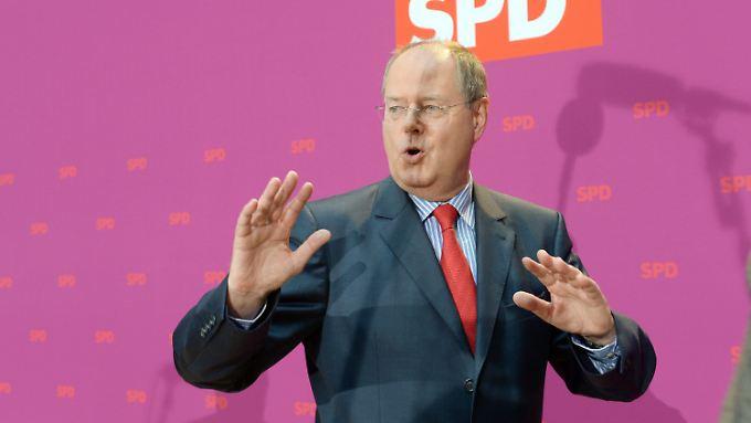 Peer Steinbrück, SPD-Hoffnungsträger.