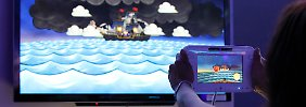 Eine Konsole, zwei Bildschirme: die Wii U.