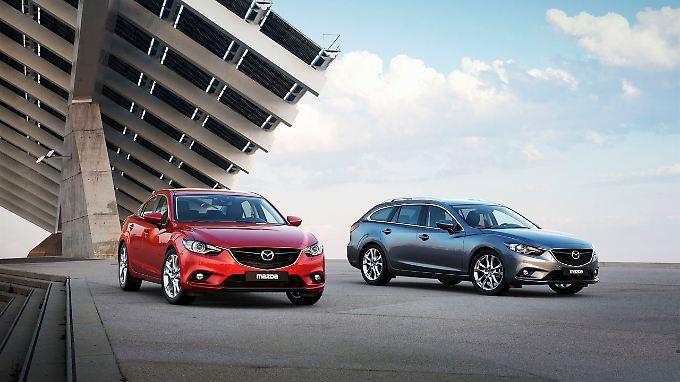 Ein Kombi ist in der Regel teurer als die entsprechende Limousine. Nicht so beim neuen Mazda6.