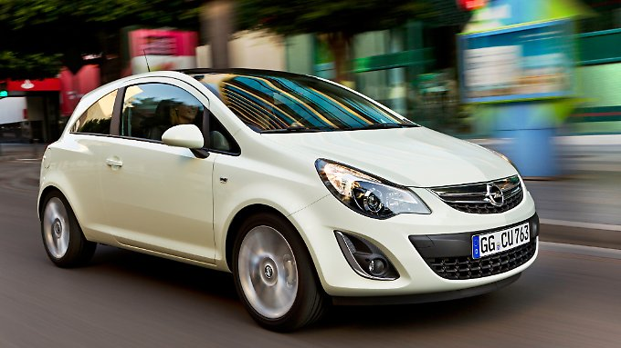 Der Opel Corsa war der beliebteste Kleinwagen im September.