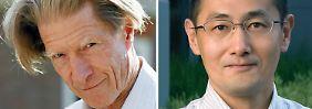 Neue Nobelpreisträger: der britische Mediziner John Gurdon und der japanische Forscher Shinya Yamanaka.