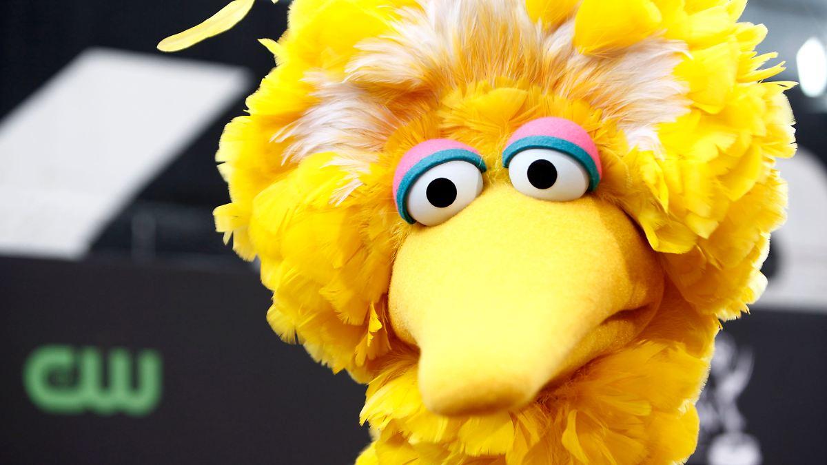 Gelber Vogel Sesamstraße