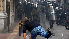 Athen im Belagerungszustand: Merkel in Griechenland nicht willkommen