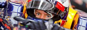 Sebastian Vettel war der stärkste Fahrer beim Qualifying zum Großen Preis von Korea – bis zum Q3.