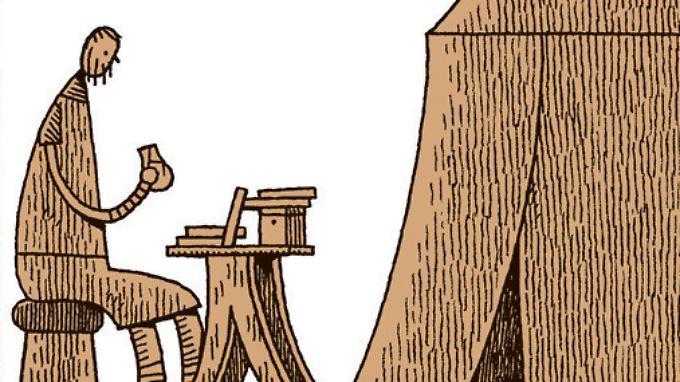 Goliath mag seinen Schreibtisch - zumindest mehr als den Krieg.