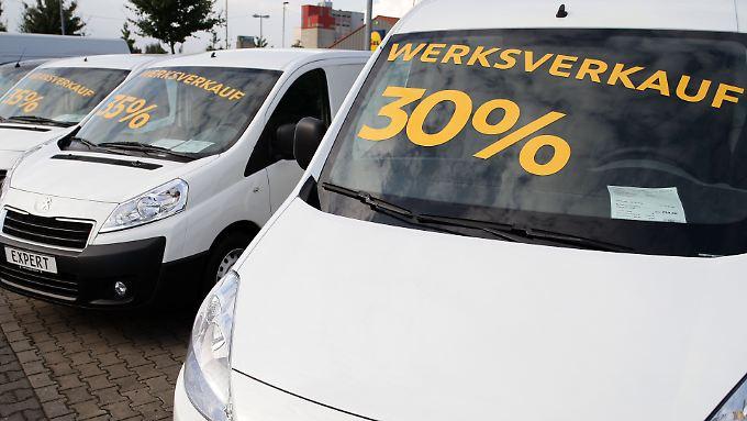 Auto-Rabatte bis zu 30 Prozent: Händler locken mit Tageszulassungen