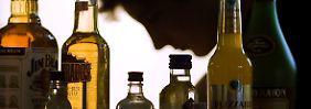 Laut einer aktuellen Studie sterben Alkoholabhängige deutlich früher.