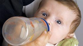 In Babyfläschchen ist Bisphenol A bereits EU-weit verboten.