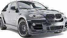 Breiter als normal: der Hamann Tycoon Evo M auf Basis des BMW X6 M.