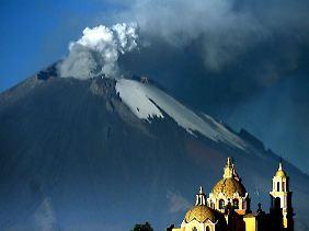 """Auch der Popocatepetl in Mexiko gehört zum """"Pazifischen Feuerring"""""""