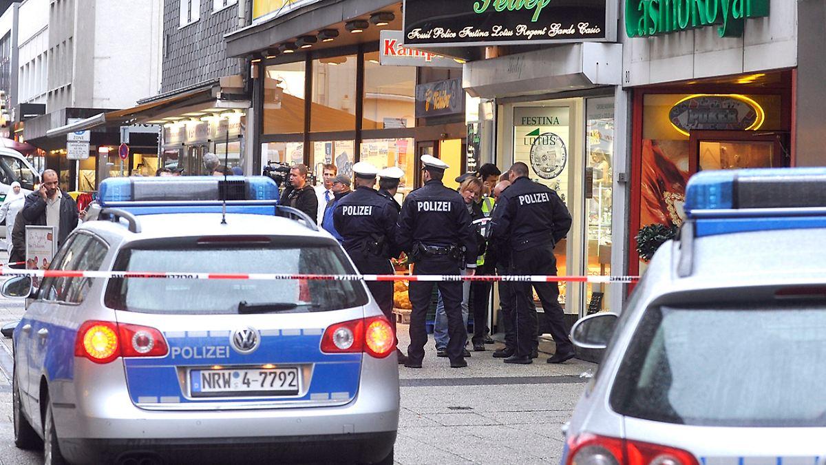 Schießerei In Wuppertal