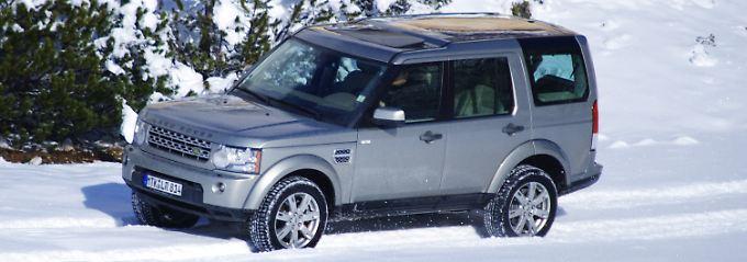 Stilvoll ins Gelände: Der Land Rover Discovery zeigt sich außen und innen sehr edel.