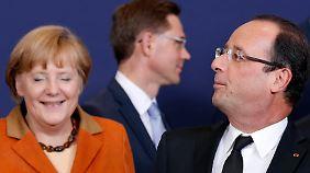 Einigung auf Bankenaufsicht beim EU-Gipfel: Merkel setzt späteren Start durch