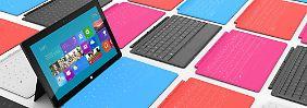 Mit dem Surface-Tablet mischt Microsoft jetzt auch im Gerätemarkt mit.