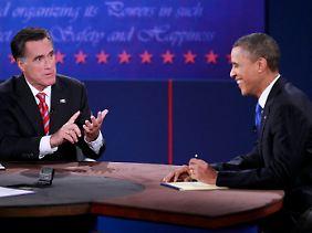 Für viele von Romneys Aussagen hatte Obama nur Spott übrig.