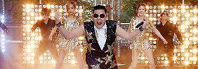 Jeden Tag sehen 10 Millionen Psy: Gangnam Style bricht Rekorde