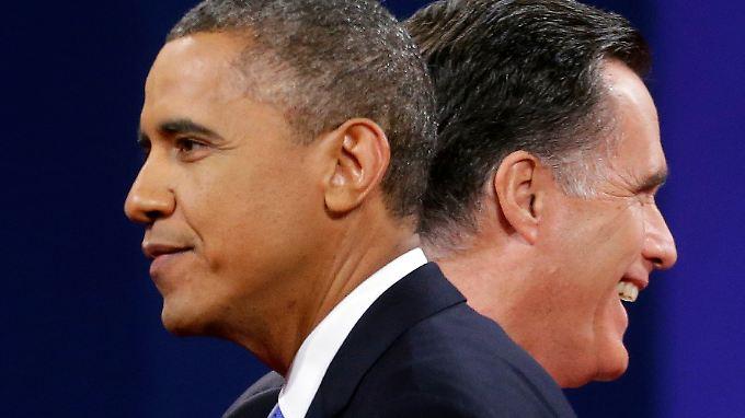 Obama souverän, Romney blass: Obama punktet bei Außenpolitik