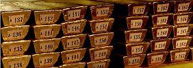 Wer lagert Gold für eine Milliarde ein?: Rätselhafte Goldvermehrung in New York