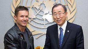 Ban Ki Moon gratuliert Baumgartner: Baumgartners Fangemeinde wächst