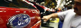 Ford-Werk Saarlouis: Der Standort könnte von der Werksschließung in Genk profitieren.