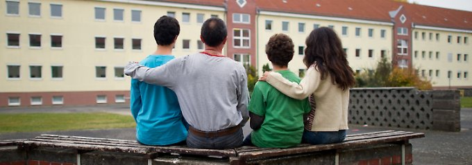 Diese syrische Flüchtlingsfamilie fand in Brandenburg Sicherheit.