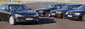 Seit 25 Jahren gibt es den V12 im 7er BMW, dem Flaggschiff der Bayern.