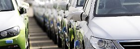 Der Lack ist ab: Eurokrise erwischt Autobauer