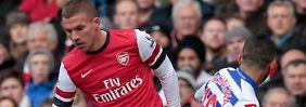 Nach 71 Minuten raus: Lukas Podolski.