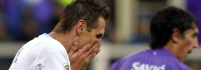 Florenz, die Frisur sitzt: Miroslav Klose.