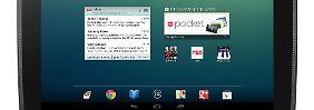 """Das neue Nexus 10. Die große Show fiel wegen """"Sandy"""" aus."""