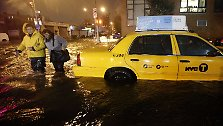 "Hochwasser in Manhattan: ""Sandy"" wütet im Osten der USA"