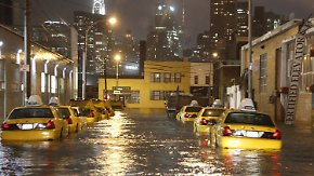 """""""Sandy"""" legt Wall Street lahm: Wirtschaftlicher Schaden alarmierend hoch"""