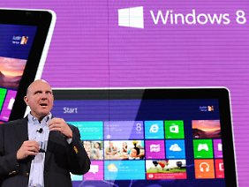 Steve Ballmer: Windows 8 ist so wichtig wie Windows 95.