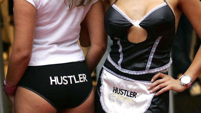 """Der """"Hustler"""" geht unter die Gürtellinie."""