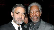 Oscar-Männer 2010: Waltz, Plummer, Damon, Tucci, Harrelson, Clooney, Bridges, Freeman