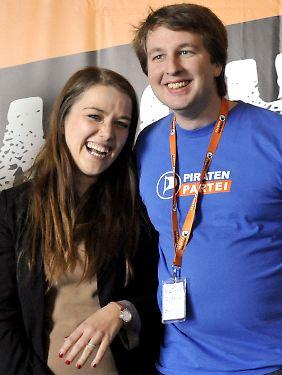 Julia Schramm und Matthias Schrade kamen im März 2012 bzw. im Mai 2011 in den Bundesvorstand.