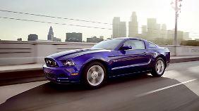 Ab 2015 könnte der Mustang auch deutsche Straßen erobern.