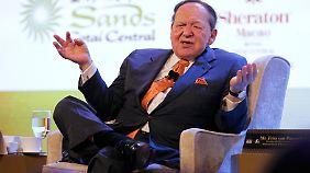 Lässt sich Obamas Abwahl einiges kosten: Romney-Unterstützer Sheldon Adelson.