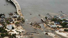 """Wahlwerbung für Obama: """"Sandy"""" hinterlässt verheerende Bilanz"""