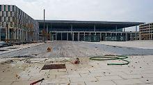 Wann der Flughafen eröffnen kann, ist derzeit noch völlig unklar.