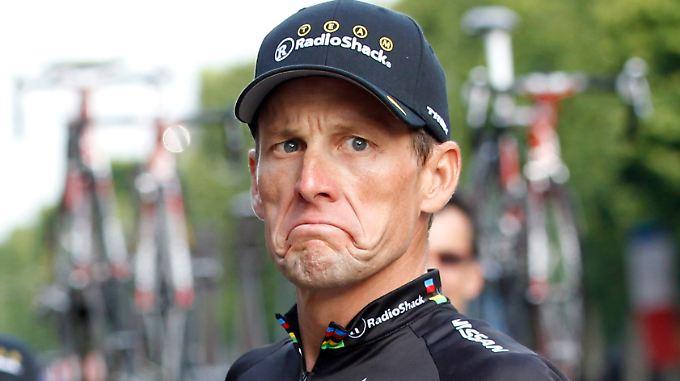 """""""Er hat uns dabei geholfen, unsere Marke aufzubauen"""": Lance Armstrong."""