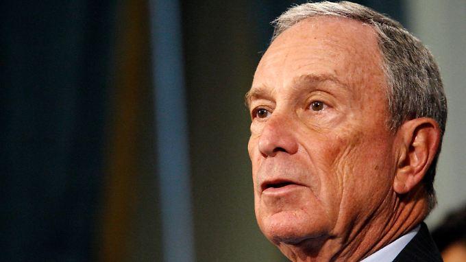 """""""Scharf vor Augen geführt"""": Michael Bloomberg."""