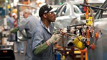 Die US-Wirtschaft läuft derzeit rund.