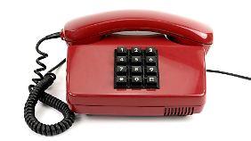 Viele der alten Telefone funktionieren noch. Die meisten Kunden haben sie dennoch gegen bequemere Schnurlos-Apparate getauscht.