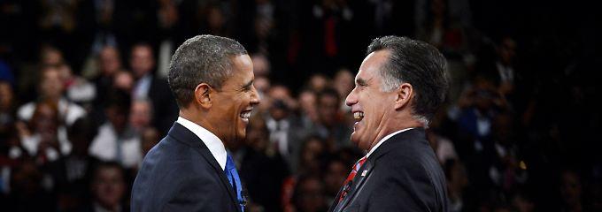 Obama und Romney - das Rennen ist noch nicht gelaufen.