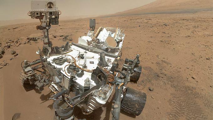 "Seit dem 5. August macht ""Curiosity"" den Mars unsicher ..."