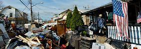 """Auch wenn Hurrikan """"Sandy"""" verheerend war, nahm er doch weniger Menschen das Obdach als erwartet."""